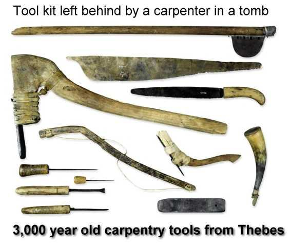 History of Carpentry - Egypt