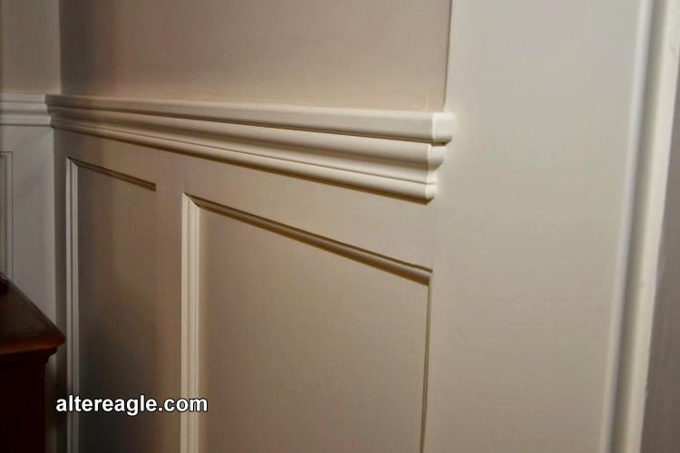 Chair Rail Orientation Part - 18: Wainscot Chair Rail To Casing