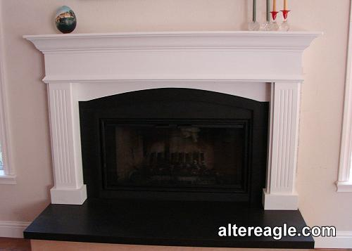 custom fireplace mantels surrounds and mantels with cabinets rh altereagle com