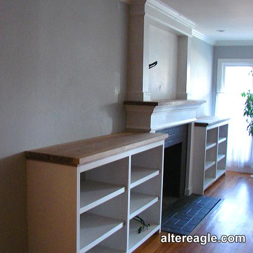 Cabinets And Fireplace Surrounds: Custom Fireplace Mantels, Surrounds And Mantels With Cabinets